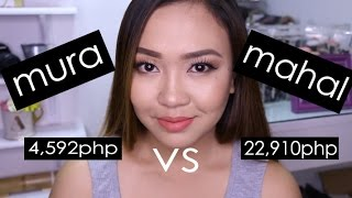 mura vs mahal na makeup review and comparison