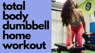 Total Body Dumbbell Workout | Personal Training Session