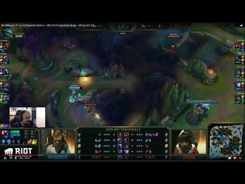 [PapaSmithy VOD Review] MSI 2019 Semi Final: SK Telecom T1 vs G2 Esports  Game 4