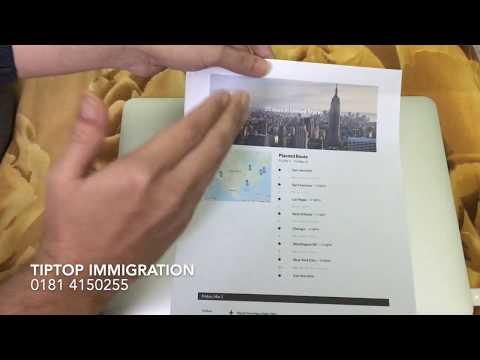 Travel Plan Importance For Establishing Purpose Of Visit In Visa Application