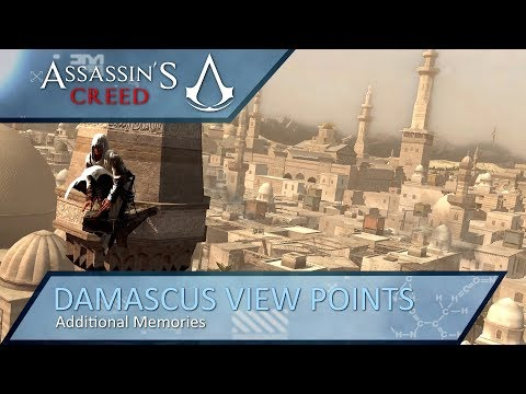 Assassin's Creed - Additional Memories - Damascus View Points