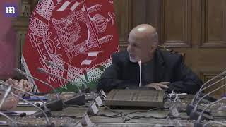 Pat Shanahan meets with Afghan President Ashraf Ghani in Kabul