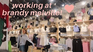 what working at brandy melville is like!