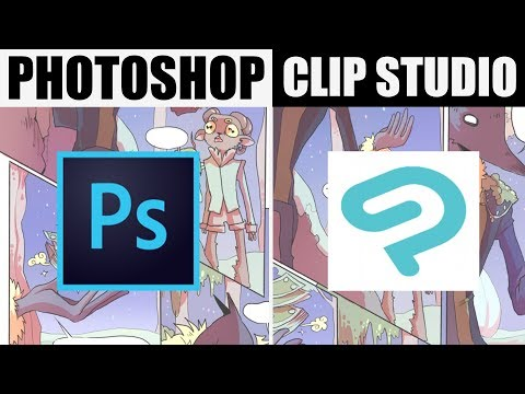 CLIP STUDIO PAINT IS BETTER + CHEAPER THAN PHOTOSHOP