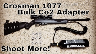 Crosman 1077 Bulk Co2 Adapter by The Budget Shooter