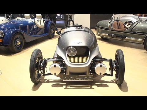 Morgan EV3 world premiere: Geneva motor show