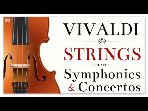 3 Hours Vivaldi Strings Symphonies & Concertos - Instrumental Soothing Relaxing Heavenly Music