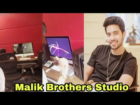 Armaan Malik & Amaal Mallik Studio || Malik Brothers Beautiful Studio || 2018