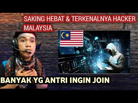 HACKER MALAYSIA TERKENAL DIKALANGAN HACKER LUAR
