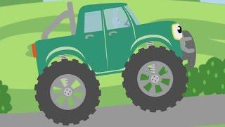 HUP HUP - oder Tut Tut oder BIP BIP - Cartoon Liedchen von Maschinen und Tiere für Kinder in German