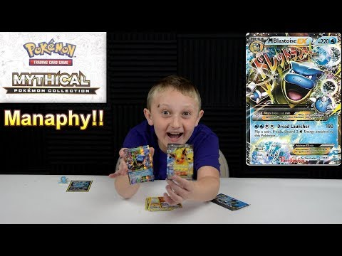 Pokemon TCG - Mythical Manaphy Pin Collection Box!!