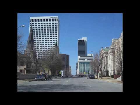 Tulsa, Oklahoma Downtown TOUR
