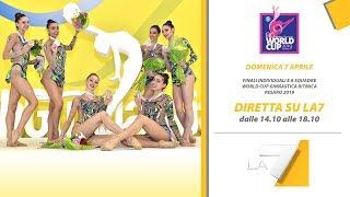 Pesaro - Finali World Cup di Ginnastica Ritmica - Diretta su La7