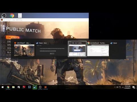 Marine Plays Call of Duty Live stream