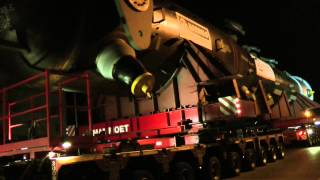 Winkels Schwertransport Kleve 28.04.2014