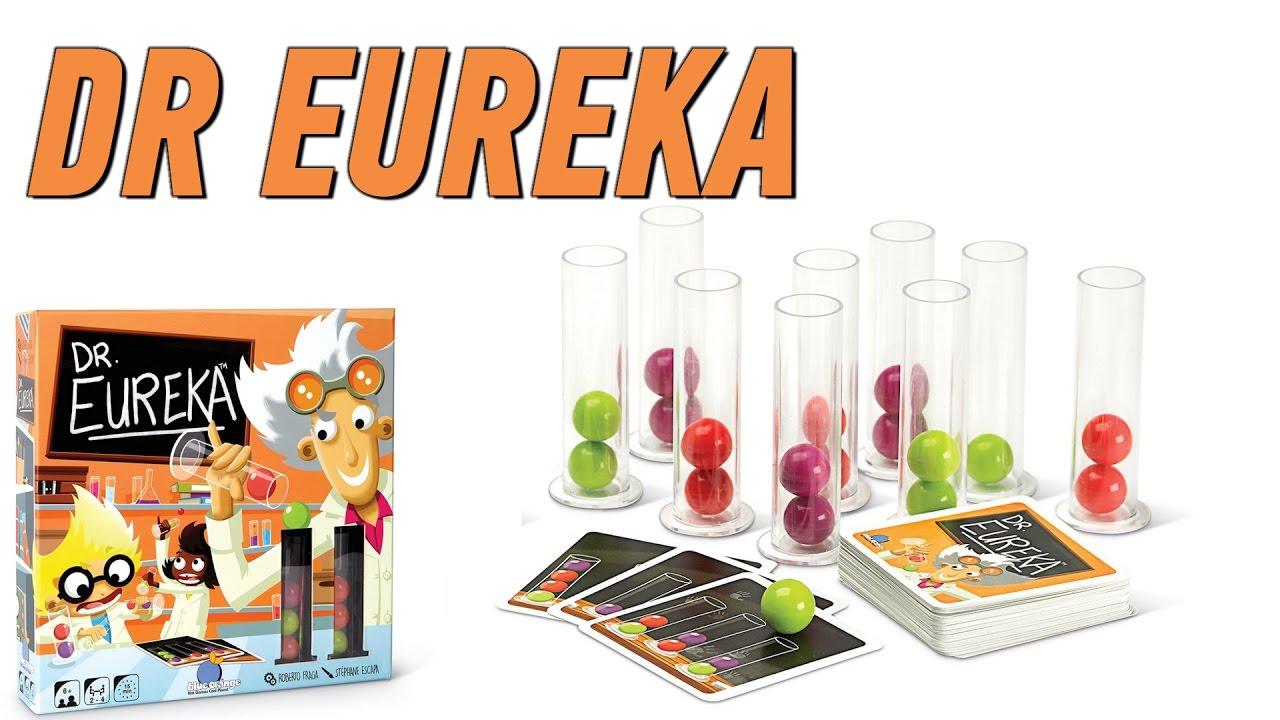 «Dr. Eureka» - летсплей настольной игры