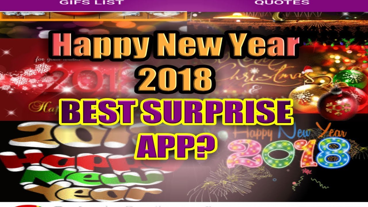 New year photo video app
