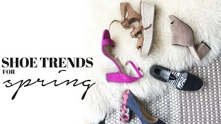 Shoe Trends For Spring + 5 Spring Outfits Look Book