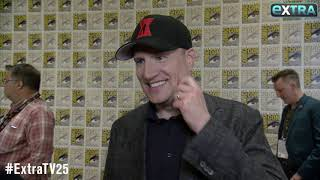Marvel at Comic-Con! Kevin Feige Talks 'Black Widow,' 'Thor: Love and Thunder,' and 'Eternals'