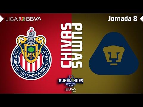 Guadalajara Chivas U.N.A.M. Pumas Goals And Highlights