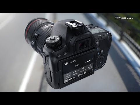 Capturing Fast Motion with EOS 6D Mark II Panning Mode