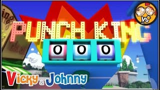 Vicky & Johnny | Episode 21 | PUNCH MACHINE | Full Episode for Kids | 2 MIN