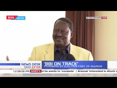 Raila Odinga: BBI report around the corner