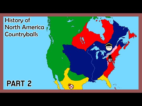 History of North America (Countryballs) - Part 2 - Colonial Wars