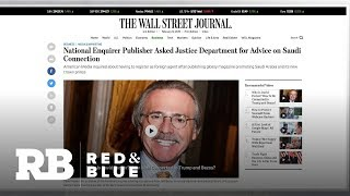 Reports: National Enquirer publisher asked Justice Dept. about registering as a foreign agent