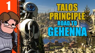 Let's Play The Talos Principle: Road To Gehenna DLC Part 1 - Intro, Open Field