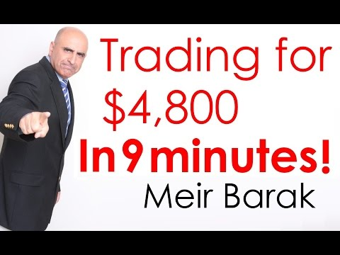 Day Trading stocks for $4,800 in 9 min. – Meir Barak