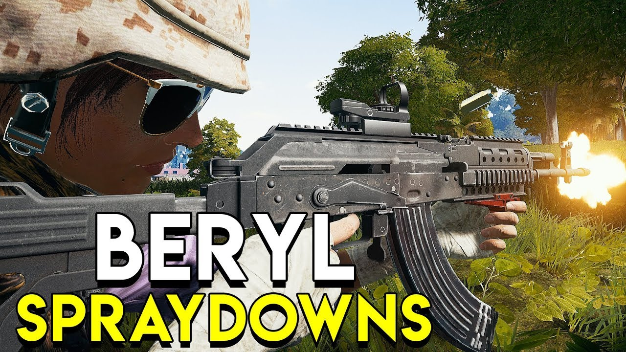 BERYL M762 SPRAYDOWNS