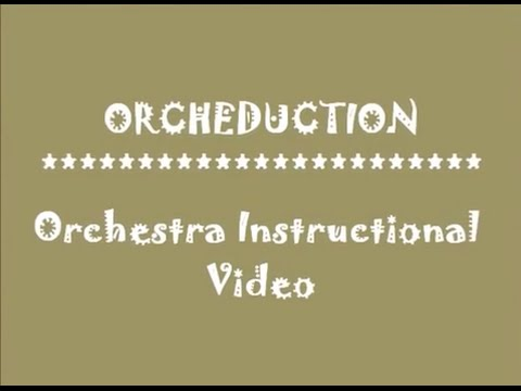 Piedmont IB Middle School, NC: Orchestra Instructional Video