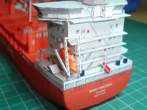 Papercraft Mary Arctica Paper Model JSC n83