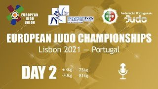 Day 2: Commentated - European Judo Championships 2021