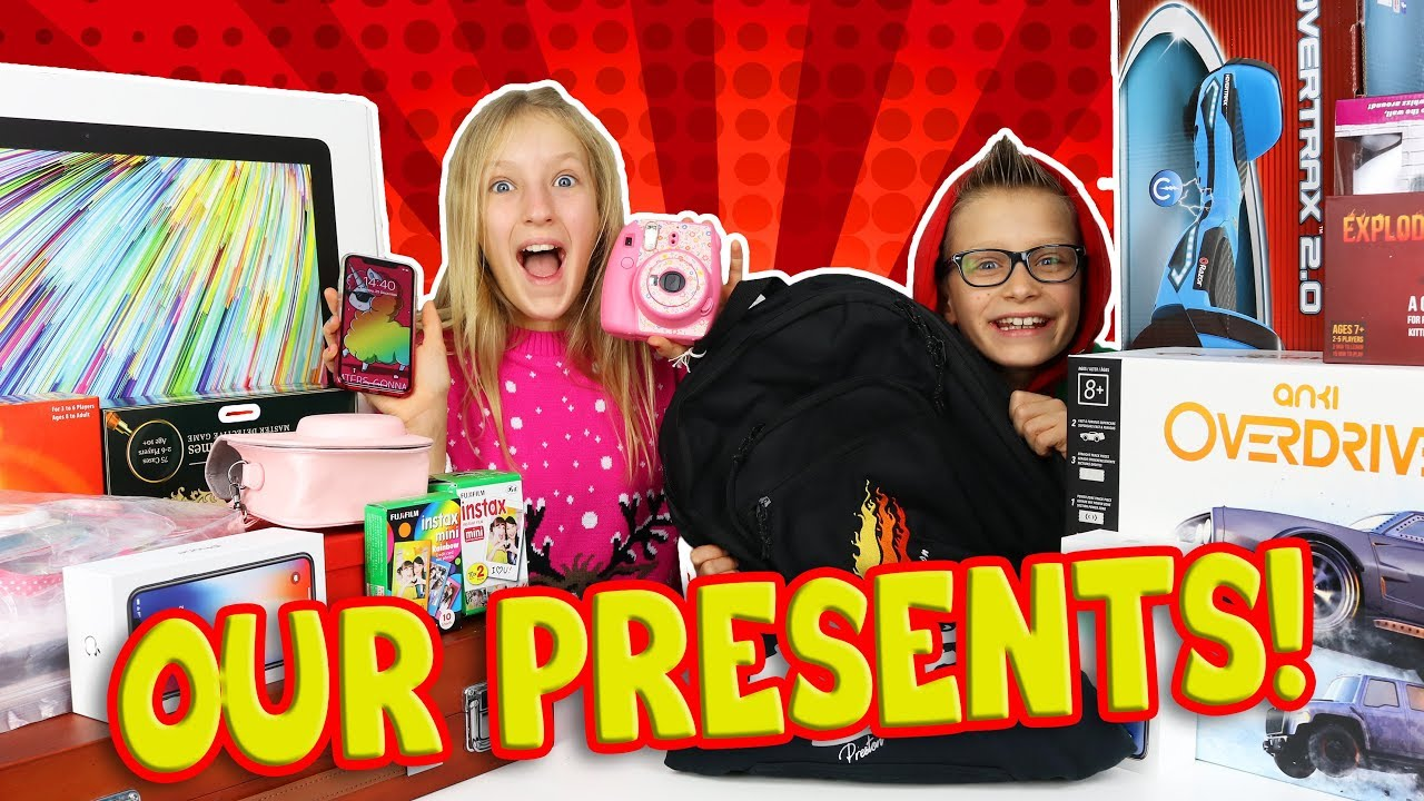 d040bfb741b730 WHAT WE GOT FOR CHRISTMAS! - YouTube