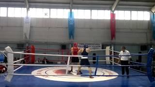 Rıdvan Yayla (red) - Ahmet Kaplan (blue) Boxing 1