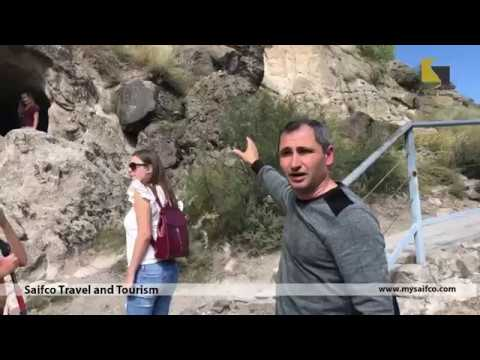 Full Day Guided Tour To Vardzia (The Cave City) Georgia. A Cave Monastery Site In Southern Georgia.