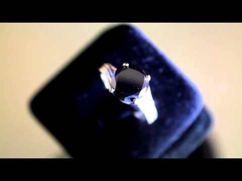 2 50cts Black Diamond