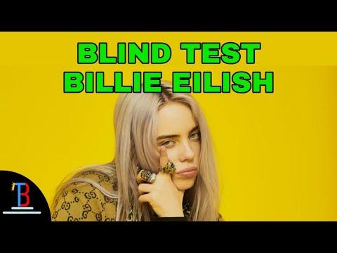 BLIND TEST BILLIE EILISH DE 20 EXTRAITS (AVEC RÉPONSES)