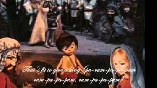 The Little Drummer Boy  The Harry Simeone Chorale  With Lyrics