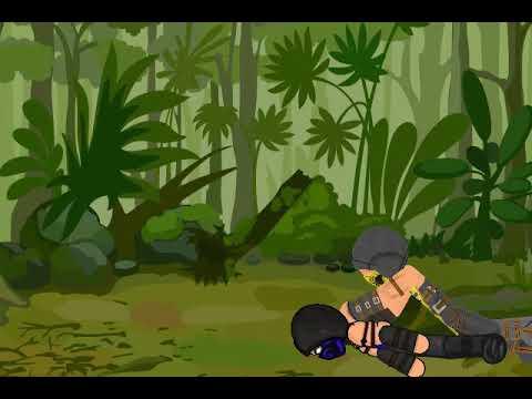 Рисуем мультфильмы 2   mortal kombat  (scorpion vs sub zero) round 3