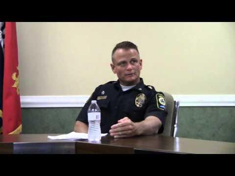 Mayor John Royalty press conference regarding Officer Nick Houck