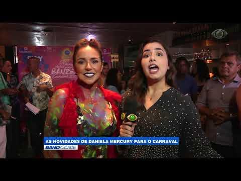 """Band Cidade - """"As novidades de Daniela Mercury para o Carnaval"""""""