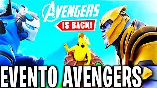 🔴 AVENGERS x FORTNITE EVENT TIGHT NOW!