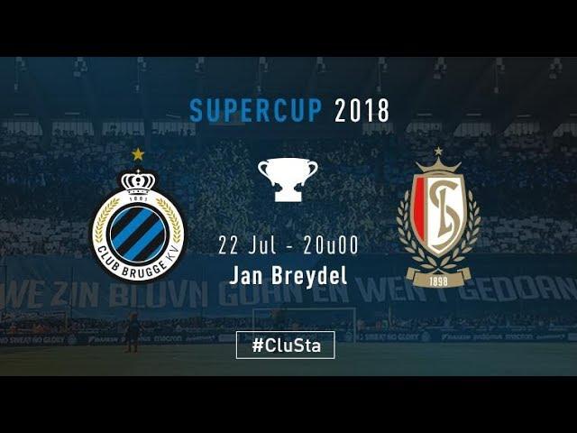CLUB BRUGGE – STANDARD | Matchverslag | SUPERCUP 2018-2019