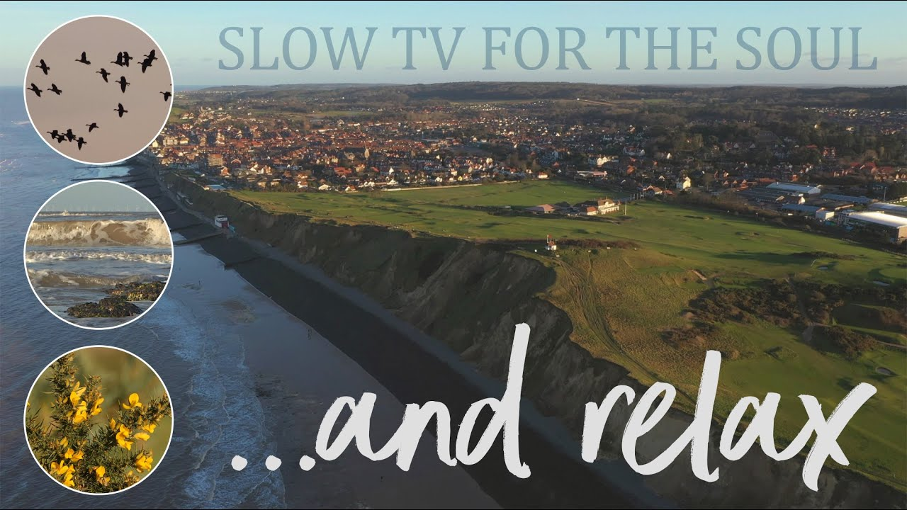 And relax... a short, calm film of the North Norfolk Coast, Sheringham.