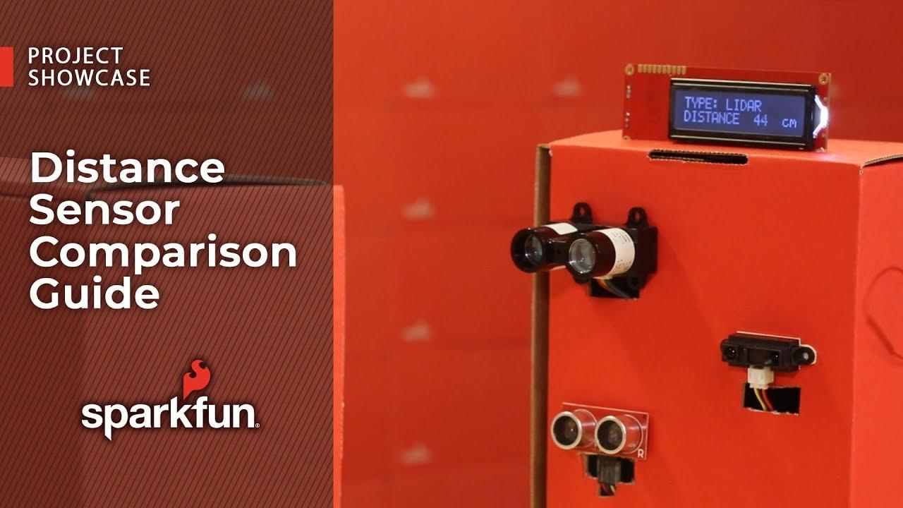 Distance Sensor Comparison Guide