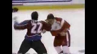 Darren McCarty vs Claude Lemieux Round 2
