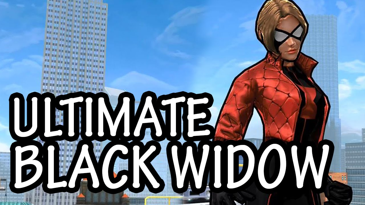 Ultimate Spider Man Black Widow Spider-Man Unlimited: ...